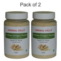 Herbal Hills Sunthee (Ginger) Powder - 100 gms - Pack of 2